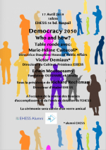 Democracy 2050 :  Who and how?